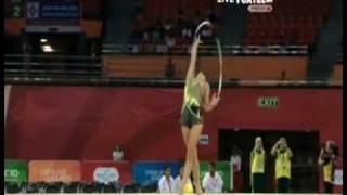 Naazmi Johnston 2010 Commonwealth Games Hoop All Around
