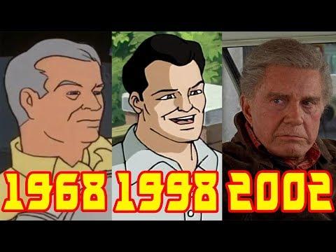 Эволюция дяди Бена все появления в фильмах и мультфильмах (1968-2017)