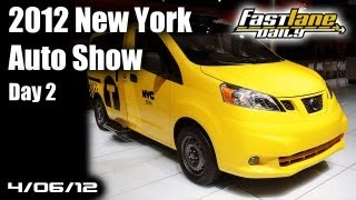 2012 New York International Auto Show - Day 2
