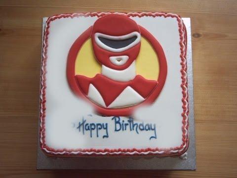 Black Series Birthday Cake