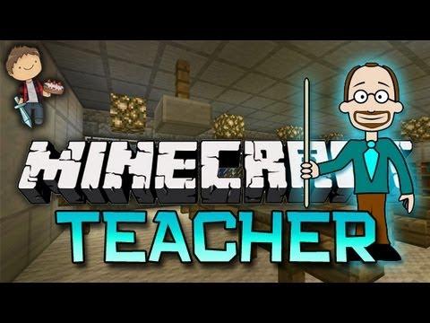 Minecraft: TEACHER Mini-Game w/Mitch & Friends - Key & Peele (Game 1)