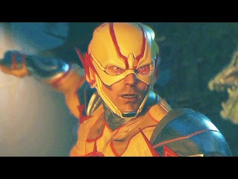 INJUSTICE 2 Reverse Flash Intro Gameplay PS4/Xbox One
