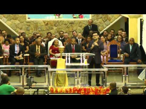 PENTECOSTES 2012! Pregação de muito poder pelo Pastor Yossef Akiva na Admaua