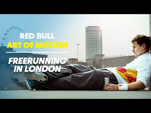 Free running competition in London - Red Bull Art of Motion 2011