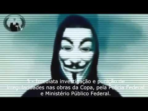 Anonymous Brasil - As 5 causas!
