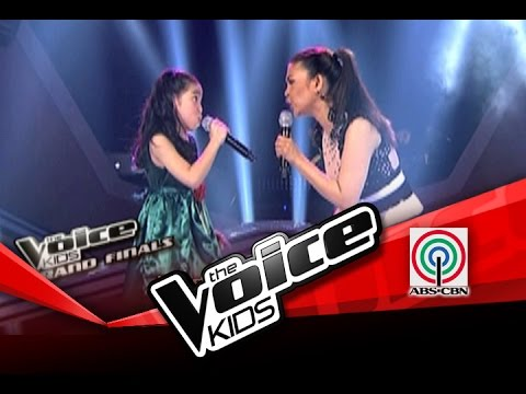 The Voice Kids Philippines Finale you Don't Have To Say You Love Me By Darlene & Lani Misalucha video