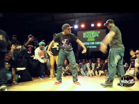 INTERNATIONAL ILLEST BATTLE 100 % KRUMP