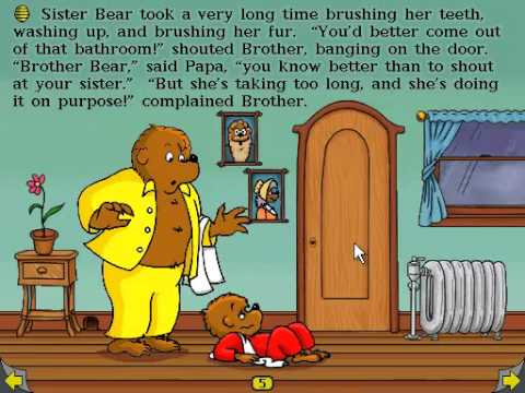 Playthrough the berenstain bears get in a fight part 2 youtube