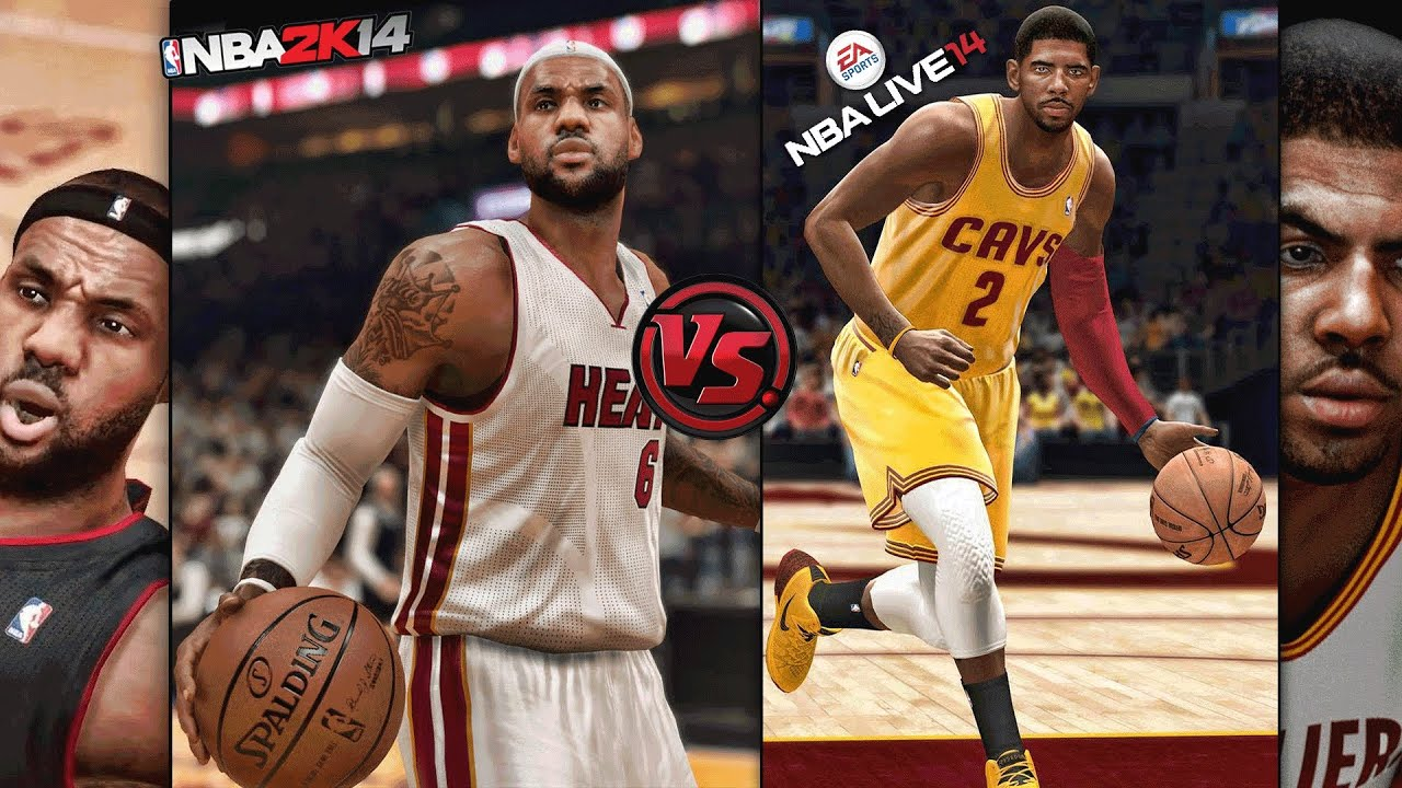 nba live 14 vs nba 2k14 who will win the title of next