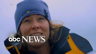 Woman attempting around-the-world sail rescued at sea