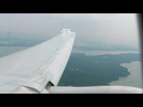 Singapore Airport Picture   on Singapore Airlines Boeing 777 300er 9v Swm Landing   Narita Rwy34l