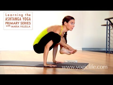 Ashtanga Yoga Primary Series: Learning Bhujapidasana with Maria Villella