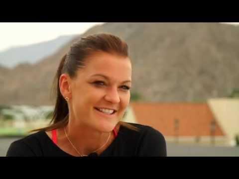 2015 Agnieszka Radwanska Preview Interview