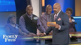 WHO have YOU given the FINGER TO? | Family Feud