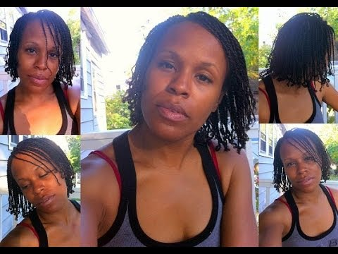 Natural Hair: Mini 2-Strand Twists Protective Style