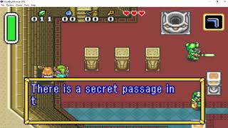 Legend of Zelda A Link to the past 100 part 1 rescuing Princess Zelda from Hyrule Castle