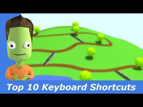 My Top 10 Keyboard Shortcuts in KSP