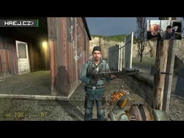 Hrej.cz Retro Let's Play: Half-Life 2 #5