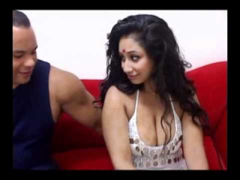 Indian Hot Aunty Flirting with Young Boy