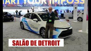 Novo Corolla e o Salão do Automóvel de Detroit - por Emilio Camanzi