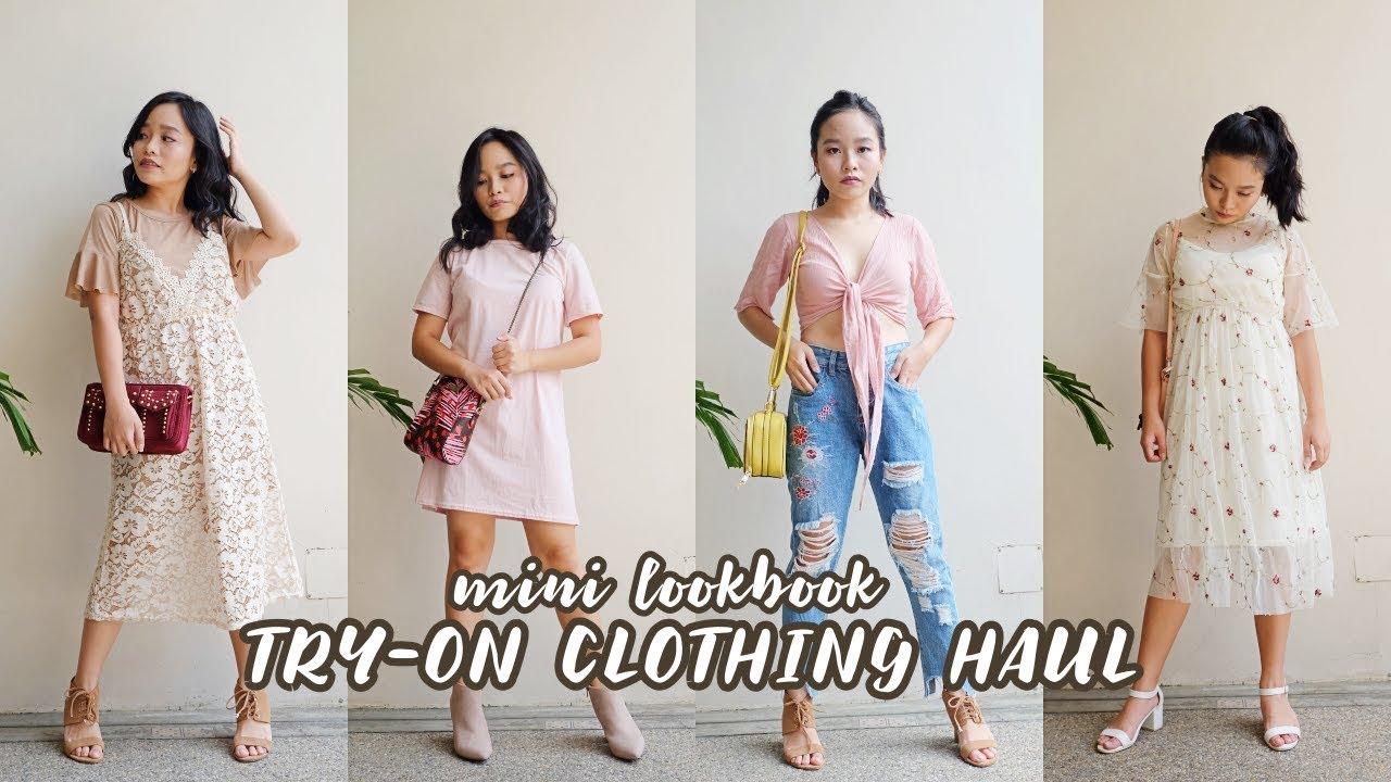 Try On Clothing Haul!   (Shanghai: H&M, Bershka, Topshop, etc) Philippines   Hazel Quing