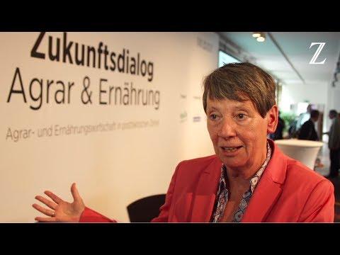 Dr. Barbara Hendricks im Interview - 4. Zukunftsdialog Agrar & Ernährung