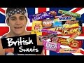 American Trying British Sweets (Candy) #MERICA
