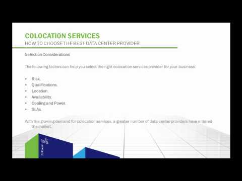 Colocation Services:  How to Choose the Best Data Center Provider