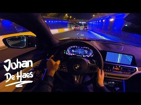 2019 BMW 3 series 330d xDrive Touring NIGHT POV TEST DRIVE