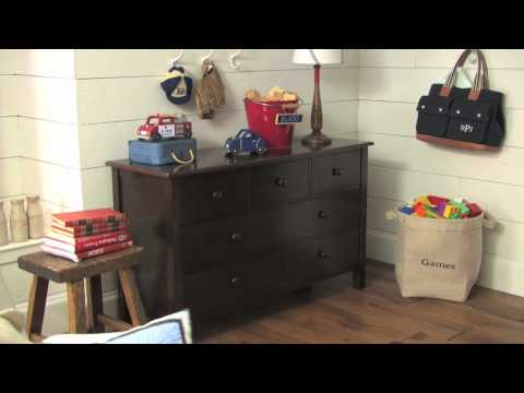 0 Some Features of the Kendall Dresser and Changing Table Topper | Pottery Barn Kids