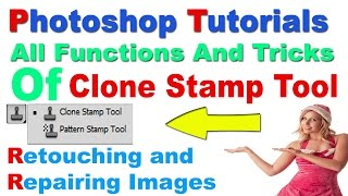 How To Use The Clone Stamp Tool In Photoshop In Hindi/Urdu