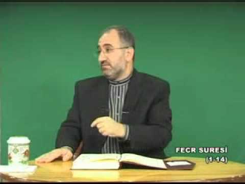 [496-1] FECR SURESİ (1-14) - Mustafa İslamoğlu - Akabe Vakfı - Tefsir Dersi