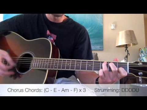 Cage The Elephant - Trouble Acoustic Guitar Lesson