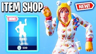 NEW FLUX EMOTE! Fortnite Item Shop! Daily & Featured Items! (January 18th 2019)