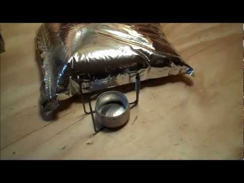 DIY ALCOHOL STOVE - (The Prepper Stove)