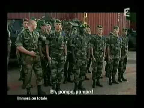 YouTube   An idiot legionnaire gets hit in the head by his nco2