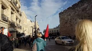 Израиль. Иерусалим старый город вход в историческую часть
