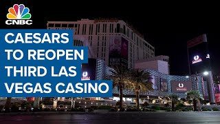 Caesars to reopen additional Las Vegas casino due to high demand