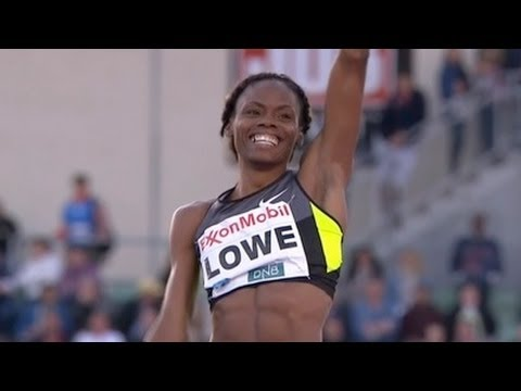 Chaunte Lowe wins High Jump at 2012 Oslo Bislett Diamond League