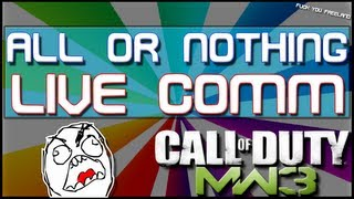 AoN Live Commentary #25 (MW3 Gameplay/Commentary)