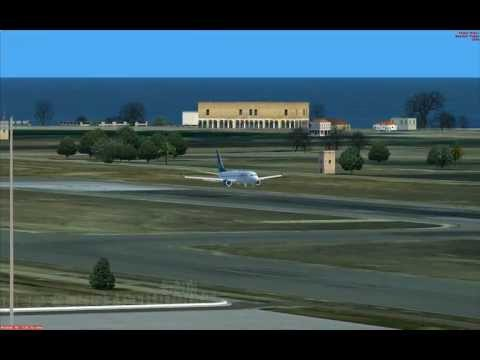 PMDG 738NGX Landing at LEIB Ibiza | Cyprus Airways Virtual