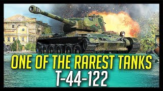 ► One of The Rarest Tanks! - World of Tanks T-44-122 Gameplay