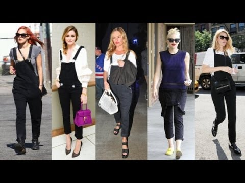 How to Wear Overalls Fashionably How to Wear Black Overalls For