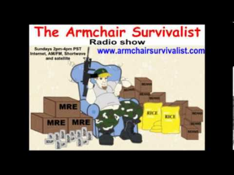 Nov.4  '12  The Armchair Survivalist radio show