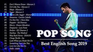 Maroon 5, Westlife, Shayne Ward, ED Sheeran   Love Songs Playlist   Best Pop Songs Playlist 2019