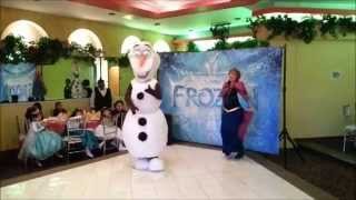 OLAF - SHOW DE FROZEN - KID CITY SHOWS INFANTILES