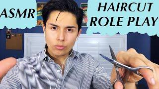 [ASMR] Italian Barber Role Play! (Haircut & Tingles!)
