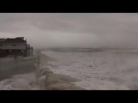 LIVE North Carolina Hurricane Florence Cam - Hurricane Florence Tracking and Beach Footage