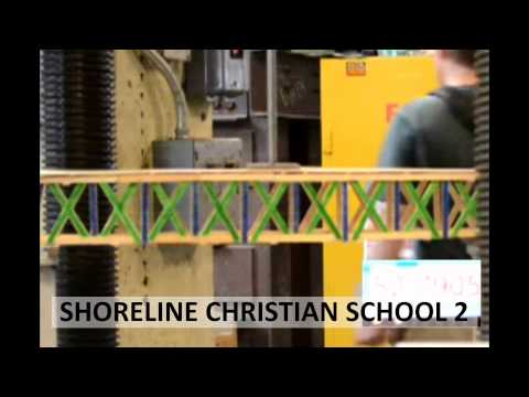 2013 Popsicle Stick Bridge Competition - Breaking the Bridges: Shoreline Christian School 2