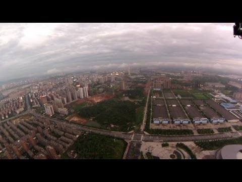 OFM Intruder Q7 Quad Amazing High Altitude FPV under clouds